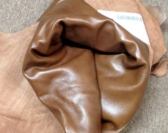 BR523.  Palisade Brown Full Leather Cowhides