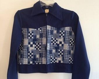 1970s Patchwork Jacket