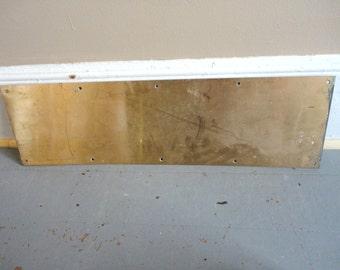 Old Door Kick Plate