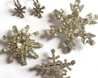 Vintage Snowflake Jewerly