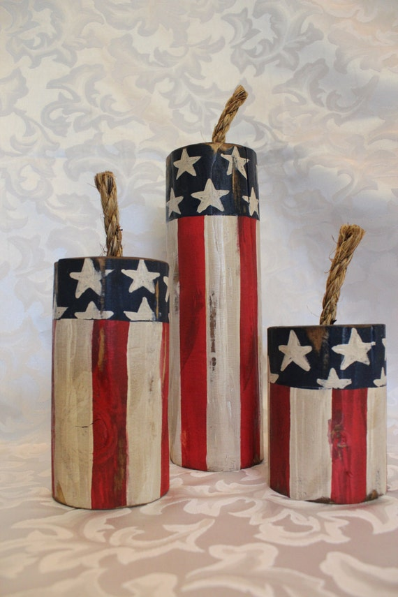 Fourth Of July Wood Decor