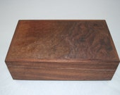 Handcrafted Walnut Jewelry box