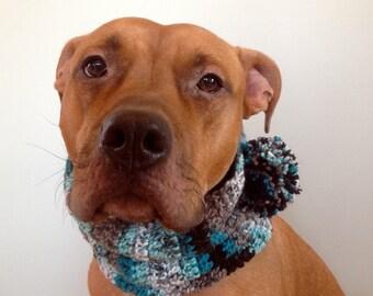 Custom Dog Cowl, Crochet Dog Scarf, Dog Clothing, Dog Scarf, Scarf for Dogs