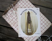 Macrame Plant Hanger Projects - Macrame Owls Patterns