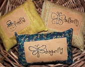 Primitive Ornies Bowl Fillers Stitchery Pillows Tucks Make Do Summer
