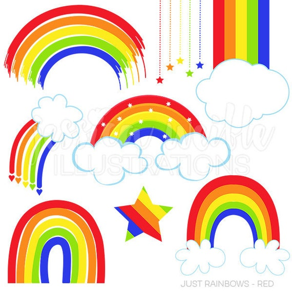 rainbow illustrations and clipart - photo #25