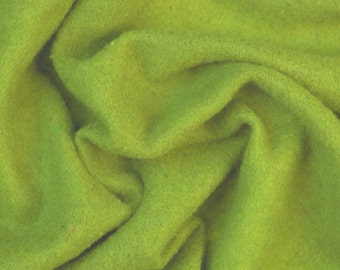 Extra fine merino Prefelt, Spring Green, 19 microns, 59 in. wide