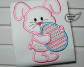 Easter bunny applique