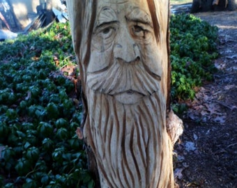 Chainsaw Carved  Wood Spirt