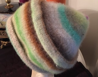 Wool Felted Hat