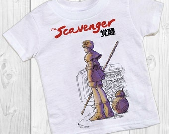 THE SCAVENGER Star Wars Inspired Nausicaa Mashup T-shirt