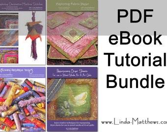 Creative Cloth eBook Tutorial Bundle - Instant Download