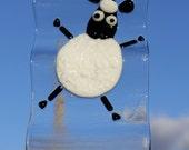 Dancing Sheep Suncatcher or Windchime View 2