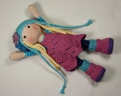 Crochet pattern for doll SUE