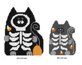 Plastic Canvas Cat Scans Wall Hangings Instant Download