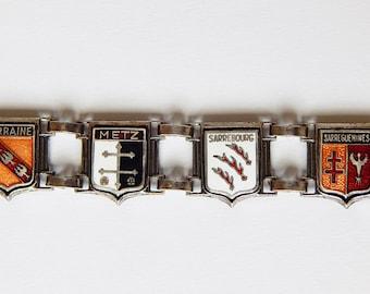 enamel french bracelet coat of arms french bracelet