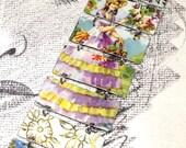 Tin Bracelet, Vintage Bracelet, Vintage Tin, Recycled Bracelet,Recycled Metal Bracelet,Tin Can,Upcycled Bracelet,Tin Jewelry, christmas