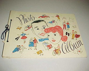 1950s Photo Album Scrapbook