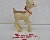 SALE! Rare Bradford Rudoph the Red Nose Reindeer Record Spinner