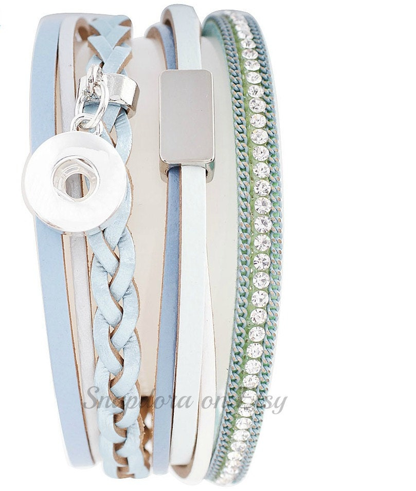 Magnetic Charm Bracelet: Mini Snap Charm Bracelet With Magnetic Closure Will Fit Petite