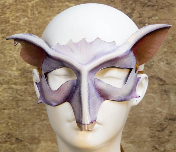 Door Mouse Leather Mask