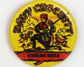 Davy Crockett Sunbeam Bread Pin