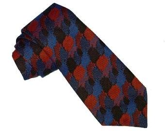Vintage 1940's Gangster Tie, Allover Vinyon Necktie