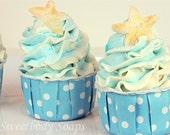 Custom Listing for 4/28 - Set of 10 Ocean Mist Mini Bubble Bath Cupcakes