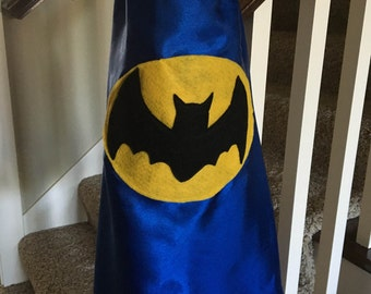 Custom Bat Superhero Cape