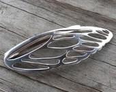 Custom Sterling Silver Butterfly Hair Pin