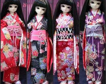 Kimono MSD,Unoa,Mini Fee,Tonner,Ellowyne, Narindoll,KId delf,BJD.