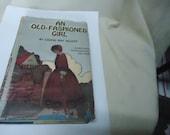 Vintage 1911 un vieux façonné fille livre relié par Louisa May Alcott à collectionner