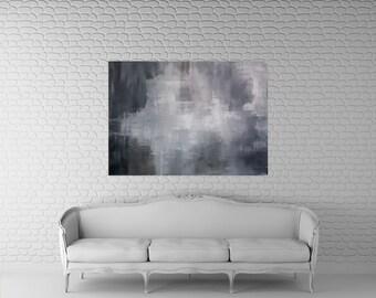 "Painting, large, abstract art, 40x 30"", Original Abstract Art, Kris Gould, Modern Art, acrylic, Contemporary Art, Home Decor"