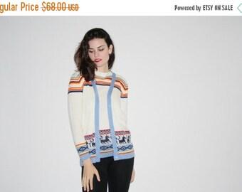 BLACK FRIDAY SALE 70% off 1970s Sweater Set   - Vintage 70s Sweater Sets  - Vintage 70s Sweaters - The Ski Trip Sweater - 6282
