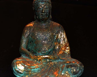 Cast Bronze Buddha in the Japanese Style