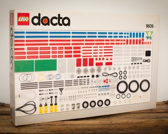 Lego Dacta Set 9609, Technic Machine Toy, Partial + Extra, Vintage 90s