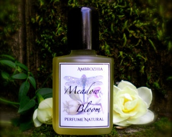 Natural perfume MEADOW BLOOM french lavender maillette, rose, geranium, chamomile, clary sage, bergamot