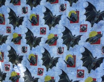 Sheet DC Comics vintage 1992 Batman Catwoman Penquin Batmobile sheet twin flat The Bibb Company superhero bed sheet