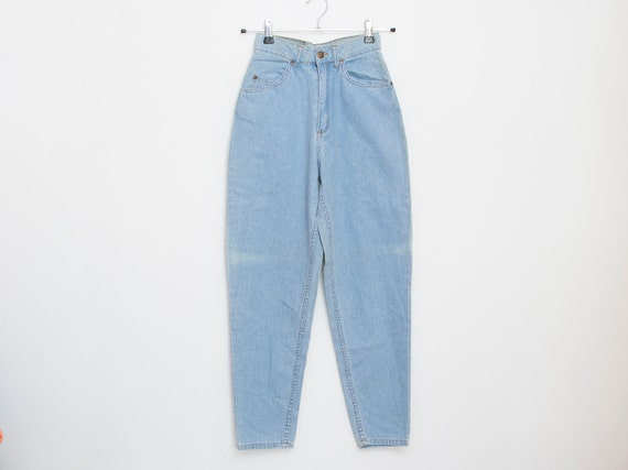 NOS Vintage 90  light blue jeans high waist
