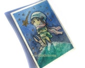 Original ACEO -  Wishing on a star
