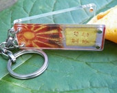 Stainless Key Chain by FortuneKeeper-Dream Believer-Opens to hold your fortunes, dreams and goals.