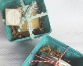 All Natural Exfoliating Sugar Scrub Gift Box. Holiday Gift Set. Body Polish. Vegan Beauty. Green Beauty