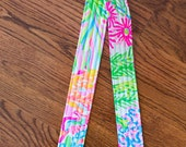 CAMERA STRAP in Lilly Pulitzer Lovers Coral