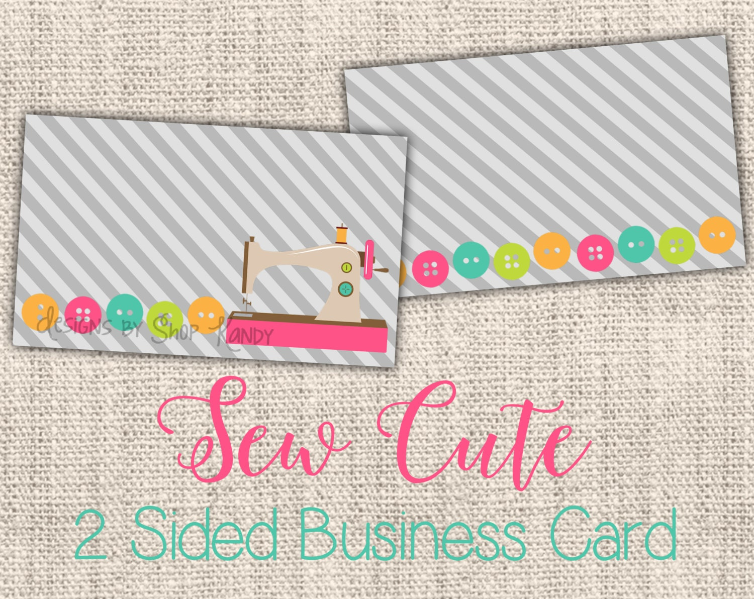 Sewing business card 2 sided embroidery business card for 2 sided business cards templates free