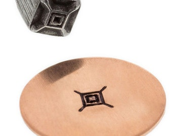 Southwest Symbol Design Stamp-5 mm-Steel Stamps Metal Stamping Supplies for Personalized Jewelry
