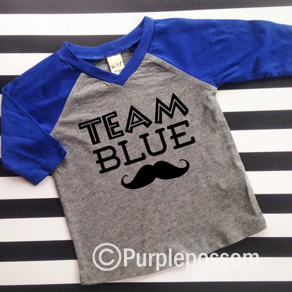 Gender Reveal Shirt Team Blue Team Pink Shirts Gender Reveal