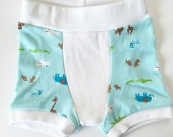 Cloth Training Pants - Boxers SM Aqua Baby Safari