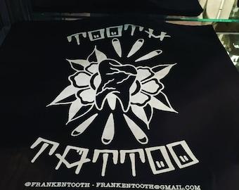 Tooth Tattoo Tote Bag