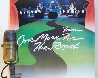 """Lynyrd Skynyrd Vintage Vinyl 2LP Live Album 1970s Classic Rock Southern""""One More From The Road""""(Sample Copy LIVE 2lp 1976 Mca w/""""Free Bird"""")"""