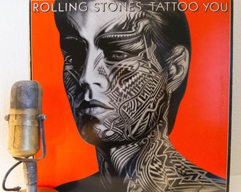 "ONSALE The Rolling Stones Vinyl Record Album 1980s Classic Rock Mick Jagger Keith Richards,""Tattoo You"" (Orig.1981 RS w/ ""Start Me Up"")"